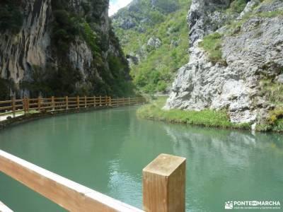 Ruta Cares-Picos de Europa; parque natural valles occidentales parque nacional de aigüestortes y la